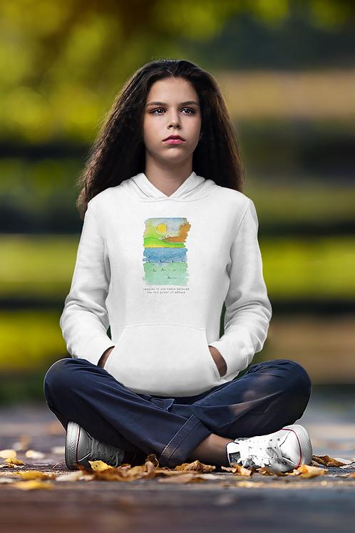 The Full Power of Nature - Women's Cruiser Organic Hoodie