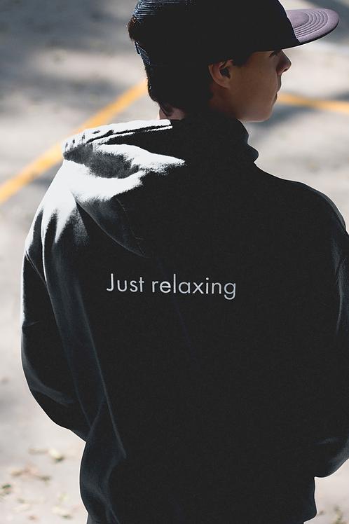 Just relaxing - Oracle Girl - Unisex Cruiser Full Zip Hoodie