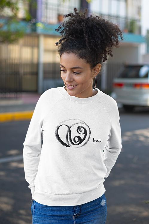 Love - Oracle Girl - Unisex eco sweatshirt