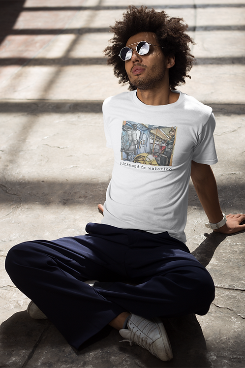 Richmond to Waterloo III - Men's Organic T-shirt