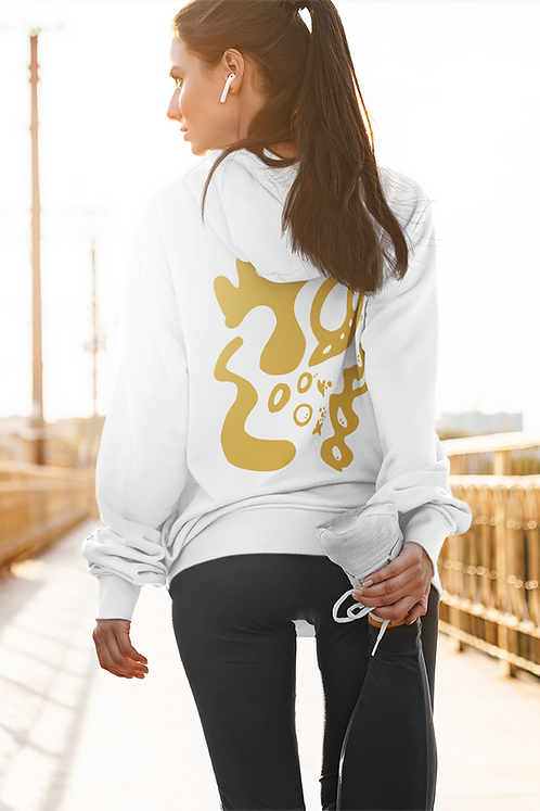Gold and togetherness SE - Oracle Girl - Unisex essential eco hoodie