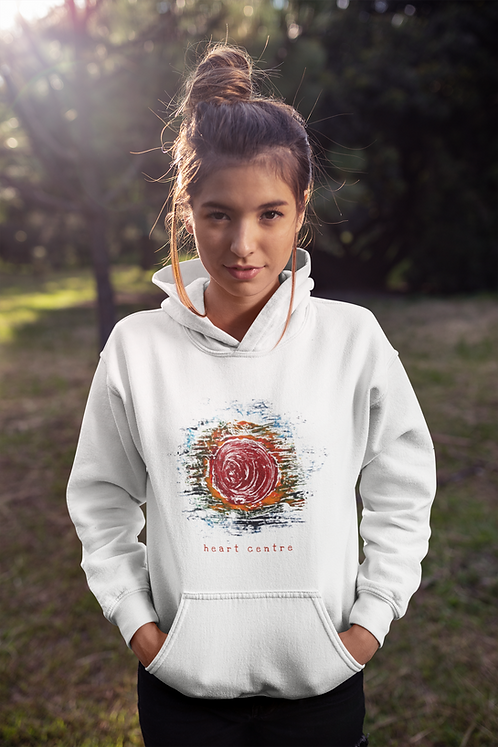 Heart centre - Ethical Unisex hoodie