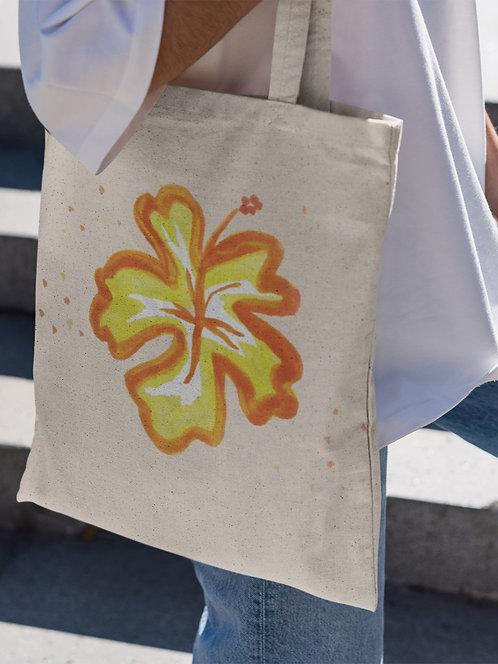 Hibiscus - Organic Tote Bag