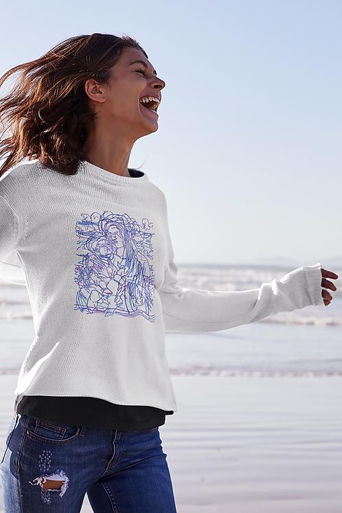 The Madonna and Child - Women's Organic Rise Sweatshirt
