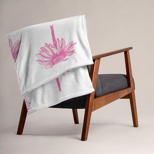 Echinacea - Ethical Throw Blanket