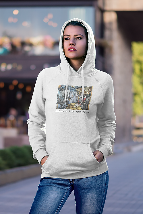 Richmond to Waterloo III - Women's Cruiser Organic Hoodie