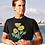 Thumbnail: Yellow poppies - Unisex organic cotton t-shirt