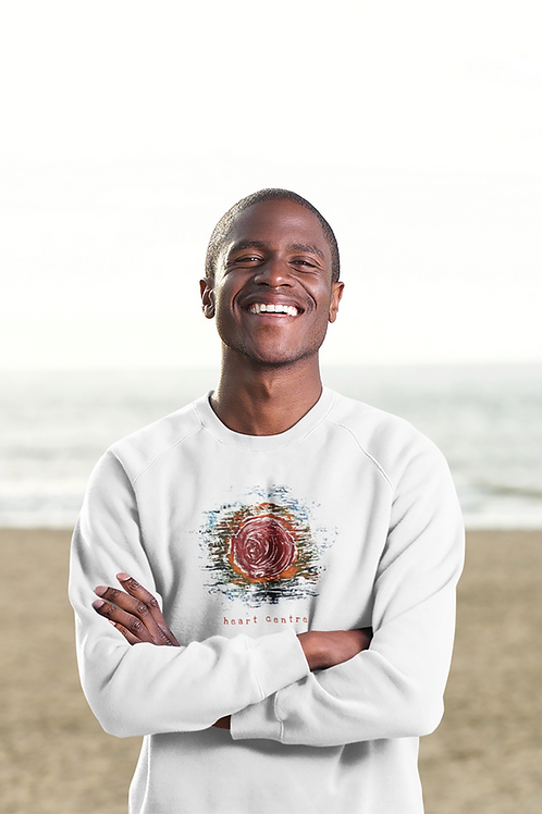 Heart Centre - Men's Organic Rise Sweatshirt