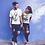 Thumbnail: 2 as 1 - Oracle Girl - Unisex Organic Slim Fit Cotton T-Shirt