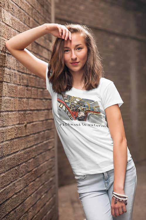 Richmond to Waterloo I - Unisex organic cotton t-shirt