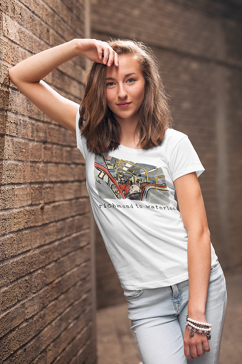 Richmond to Waterloo I - Women's Organic Fitted T-shirt
