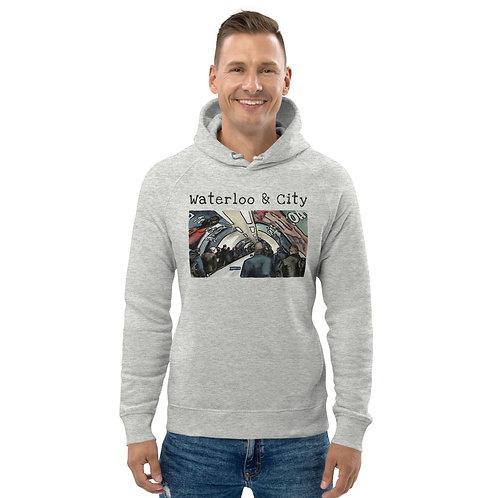 Waterloo & City I - Unisex eco pullover hoodie