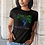 Thumbnail: Tree of life - Women's fitted organic cotton tee