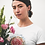 Thumbnail: Heart centre - Women's fitted organic cotton tee