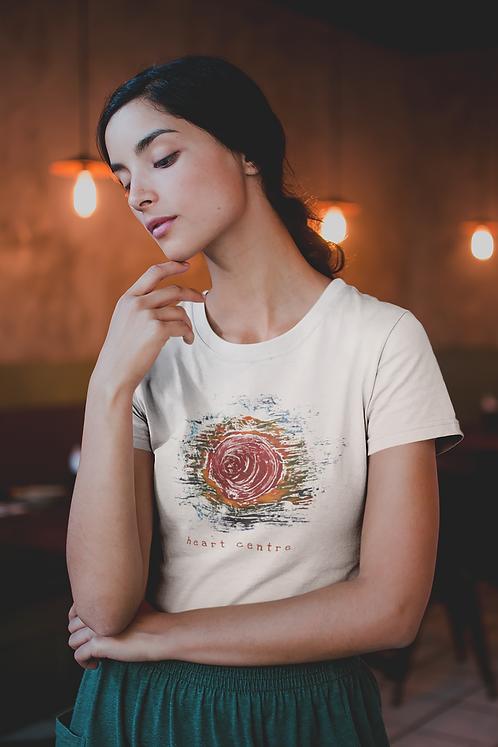 Heart centre - Unisex organic cotton t-shirt