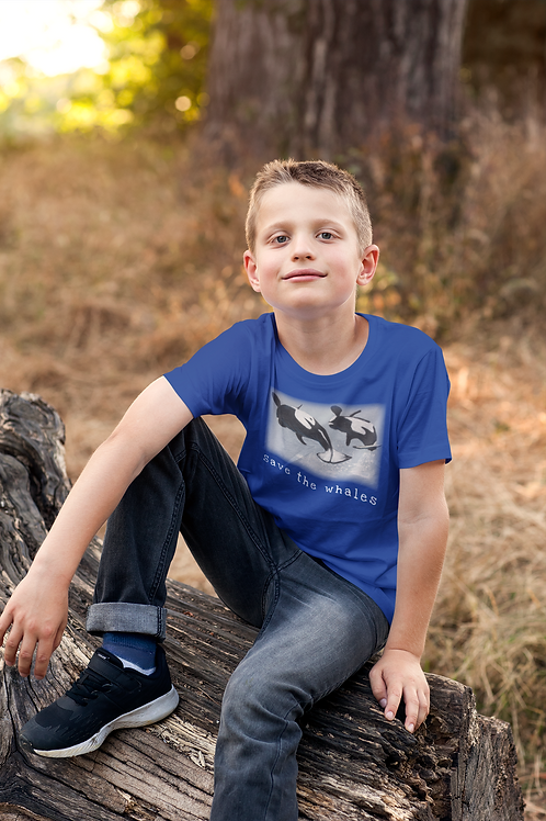 Save the Whales - Kids Heavy Cotton™ Tee