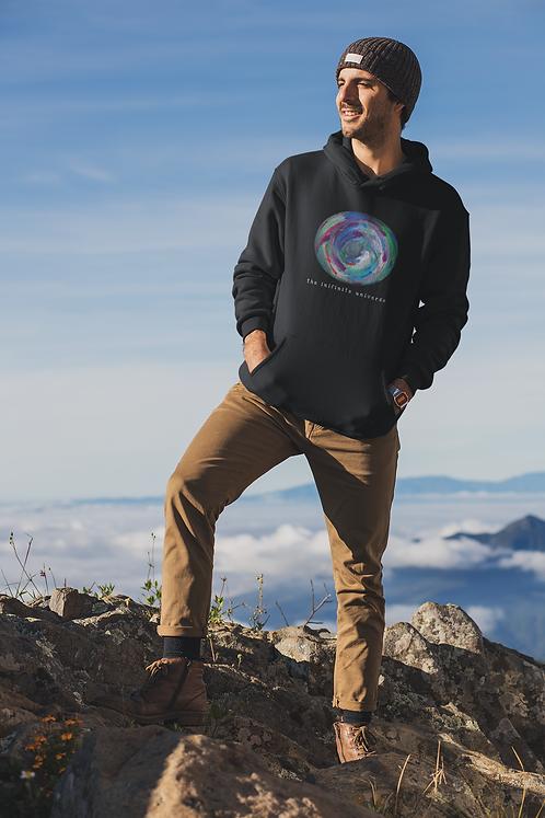 Infinite universe - Ethical unisex hoodie