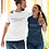 Thumbnail: Embodying more love on this planet - Oracle Girl - Unisex organic cotton t-shirt
