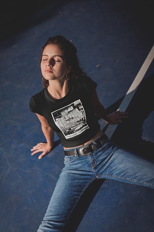 Wimbledon Broadway - Women's Organic Fitted T-shirt
