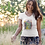 Thumbnail: The New World - Women's Organic Fitted T-shirt