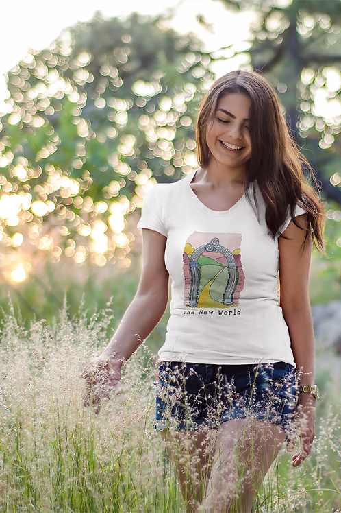 The New World - Women's Organic Fitted T-shirt