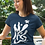 Thumbnail: Signs of the earth - Oracle Girl - Unisex organic cotton t-shirt