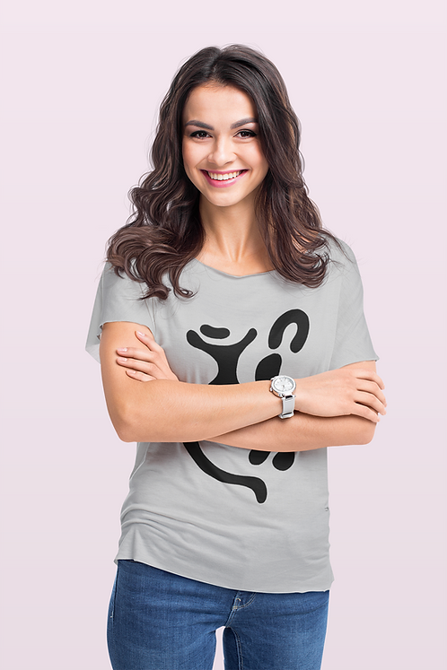 Indigene - Oracle Girl - Women's fitted organic cotton tee