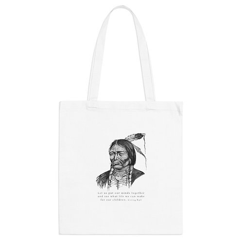 Sitting Bull - Tote Bag