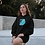 Thumbnail: Waves - Eco hoodie dress