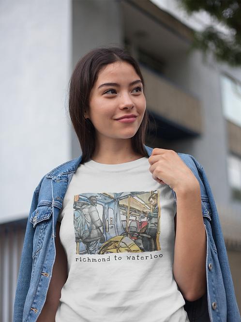 Richmond to Waterloo III - Women's Organic Fitted T-shirt