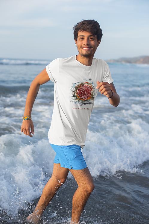 Heart Centre - Men's Organic T-shirt