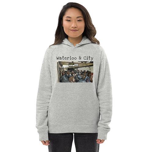 Waterloo & City II - Unisex eco pullover hoodie