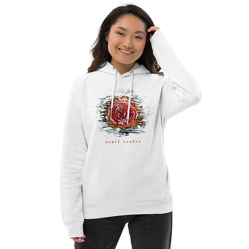 Heart centre - Unisex eco pullover hoodie