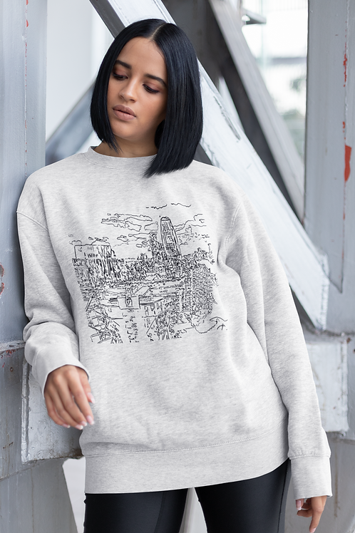 South Bank - Women's Organic Rise Sweatshirt