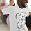 Thumbnail: Discovery - Oracle Girl - Unisex organic cotton t-shirt