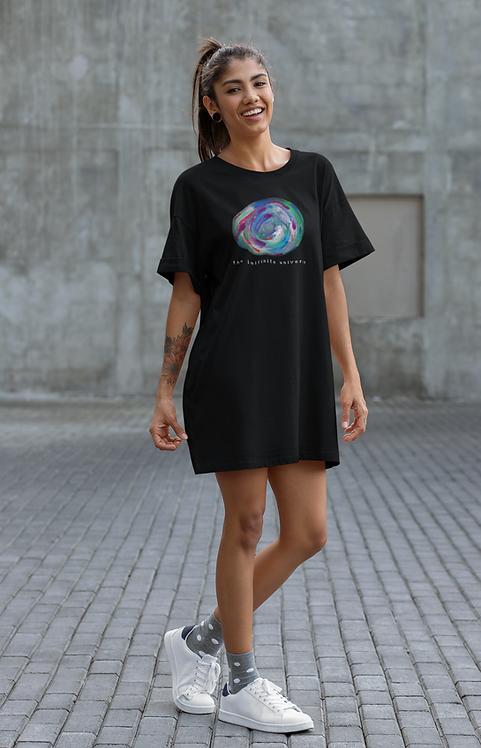Infinite universe - Organic cotton t-shirt dress