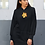 Thumbnail: Hibiscus - Eco hoodie dress