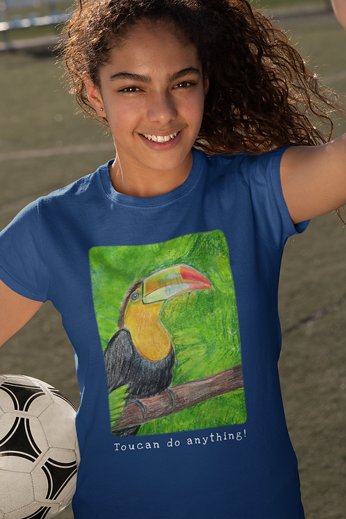 Toucan do anything! - Kids Heavy Cotton™ Tee