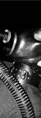 Gasmask and poppers while getting fist fucked, session done in my dungeon.