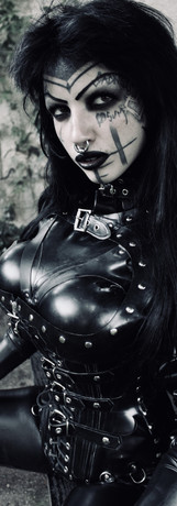 Black Rubber, DeMasK Rubber outfit.
