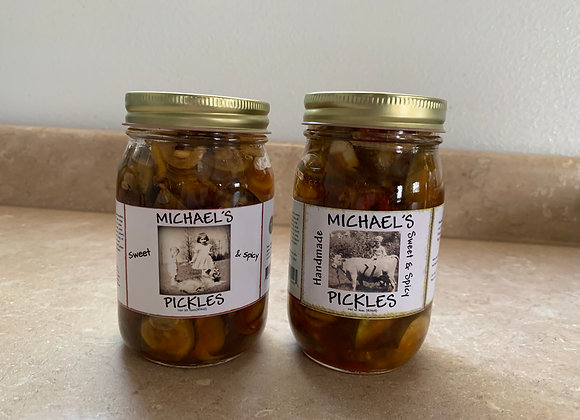 SWEET & SPICY PICKLES