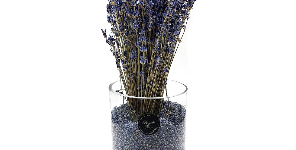 Dried Lavender in vase