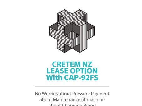 CretemNZ CAP-92FS LEASE OPTION