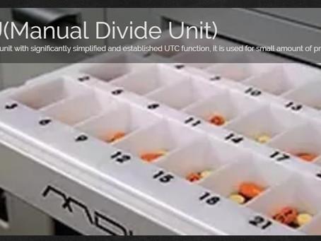 It's perfect! MDU(Manual divide Unit)