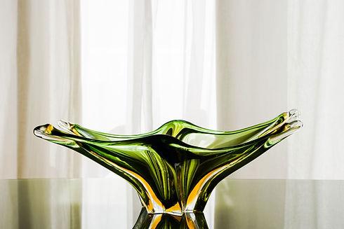Blown Glass Centerpiece