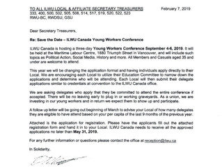 ILWU Canada Young Workers Conference