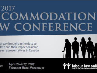2017 Accommodation Law Conference