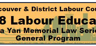 2018 Labour Education Program