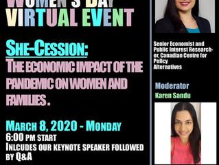 VDLC International Women's Day event Mar 8