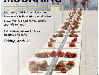 National Day of Mourning - April 28
